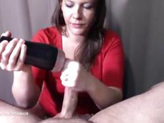 "You can call me ""the nutcracker"" :) fleshlight-blowjob"
