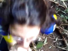 amateur, blowjob, bukkake, public, outside, mamada, argentina, acabada-en-la-boca, cum-swallow, cum-eating, head, cock-sucking, bj, dick-sucking, orgasm, cumshot, sperm, jizz, young, blow-job