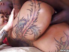 tattoo, handjob, anal, big ass, interracial, blowjob, busty, pierced, brunette milf, bbc, pawg, bangbros network, bella bellz