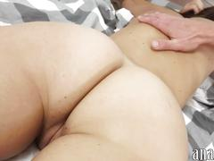 Sexy gf first time anal sex and recorded by horny partner