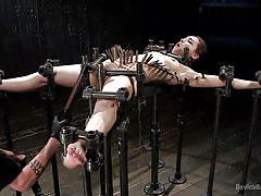 Slutty gabriella gets tortured