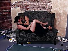 Horny blonde wants to play with dana