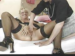 Horny old lesbians want some kinky action