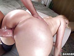 blonde, handjob, big ass, babe, tattooed, ass to mouth, dick sucking, fuck from behind, pawg, bangbros network, vanessa cage