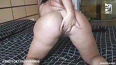 Mexican fucks colombiana with huge ass!!! alondra