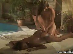 asian, ebony, oil, erotic, body, massage, oiled, india, desi