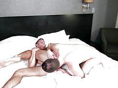 Hot gays play in bedroom