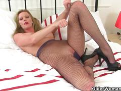 british, matures, milfs, nylon, stockings