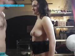 Bj pleasure, strip and licking with czech milf