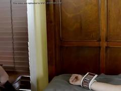 Lesbian spreadeagle bondage forced orgasm miss whitney morgan & jess jordan