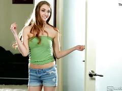 Samantha hayes and elektra rose in the popular girl