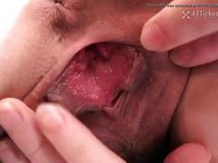 Ai's wet pussy hole (uncensored jav)