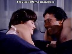 Erica boyer, john leslie, rachel ashley in vintage porn video