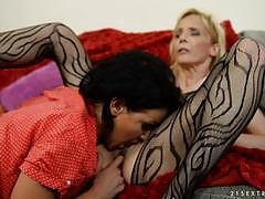 Nia black craves mature pussy