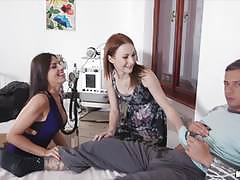Alice march and cecilia de lys foursome fucking