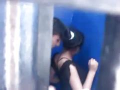 Peru chibolita tirando en cabina internet