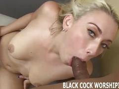 Watch while this massive black cock stretches out my ass