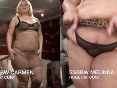 Bbw vs ssbbw casting