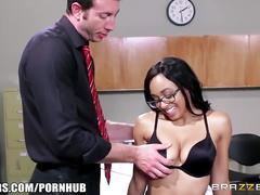 Brazzers - ebony schoolgirl anya ivy gets pounded