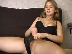 Nice girl love trio, and tries black cock in her asshole
