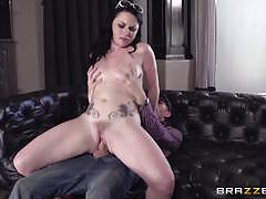 Massive dick slams into veruca james sweet little pussy