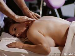 Mimi rogers in full body massage