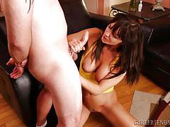 Naughty holly craves for a dick