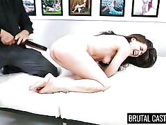 small tits, babe, casting, brutal, rough sex, fingering, mouth fuck, tied hands, brutal castings, fetish network, tiffany star