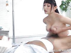 hospital, japanese, nurse, blowjob, titjob, censored, cock riding, asian babe, boobs groping, jp nurse, all japanese pass, saaya yoshimi