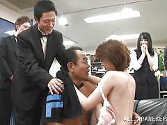 japanese, public, blowjob, group sex, watching, office sex, from behind, censored, asian babe, public sex japan, all japanese pass