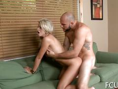 Slut moans from passionate fuck movie