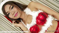 Solo asian girl april xmas special
