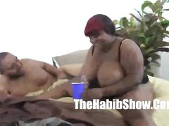 hardcore, thehabibshow.com, bbw, massive boobs, black booty, homemade, huge ass, gang bang, bbc