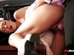 marley brinx, blowjob, doggystyle, bondage, punishment