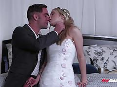karla kush, blowjob, petite, bride, sucking