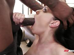 Ava dalush fucks a huge black cock