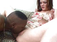 Black fucks white womans ass