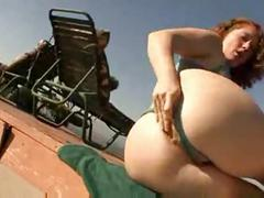 Big ass redhead mylie moore bbc anal
