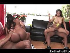 Ebony babes love to fuck
