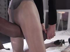 lesbians, lesbian, nylon, legs, grinding, pantyhose, high heels, foot fetish