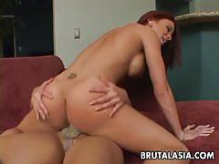 Sizzling babes enjoy lesbian fuck