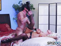 Cumming on brittany andrews tits