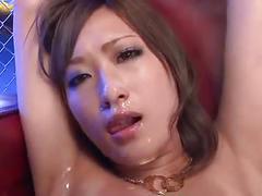 Beautiful japanese girl bukkake
