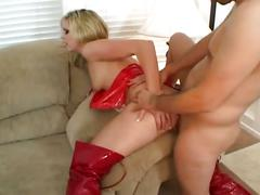 anal, big ass, big tits, blonde, fetish, hardcore, pussy, anal sex, ass to mouth, assfucking, busty, doggy style, latex, nice ass, piledriver, platinum blonde, reverse cowgirl, shaved pussy
