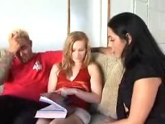 Katie rae seduced by a couple