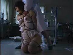 Asian rope bondage