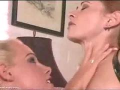 Lesbian feet and hose