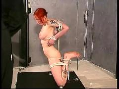 sex, and, submission, tit, breast, bondage, strappado, extreme, restraints