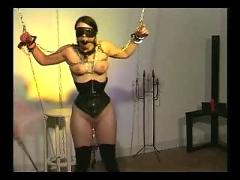 Slave cat torture bondage part-2