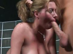 Sara stone fucked deep in her throat
